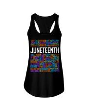 Juneteenth  Ladies Flowy Tank tile