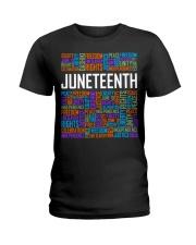 Juneteenth  Ladies T-Shirt tile
