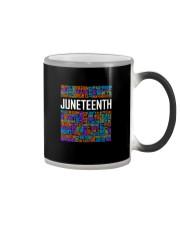 Juneteenth  Color Changing Mug tile