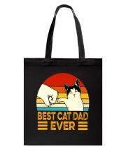 NTK002   Best Cat Dad Ever Classic T-Shirt Tote Bag tile