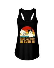 NTK002   Best Cat Dad Ever Classic T-Shirt Ladies Flowy Tank tile