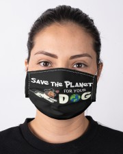 VAK032 VAK032 Save The Planet For Your Dog Cloth face mask aos-face-mask-lifestyle-01