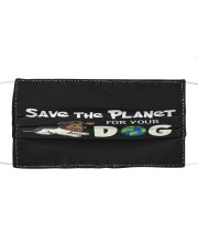 VAK032 VAK032 Save The Planet For Your Dog Cloth face mask front