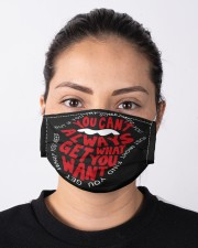 Last Day To Order - BUY IT or LOSE IT FOREVER Cloth Face Mask - 5 Pack aos-face-mask-lifestyle-01
