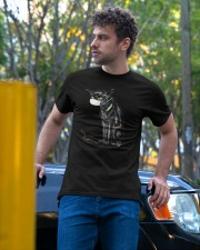 Hiss Off Cat Face Mask Funny Classic T-Shirt apparel-classic-tshirt-lifestyle-front-44