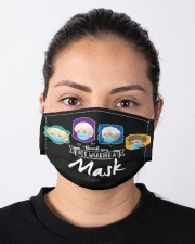 NKH024 Golden Girl Cloth Face Mask - 3 Pack aos-face-mask-lifestyle-01
