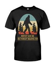 Black SHIRT Classic T-Shirt front