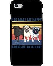 Pug Make Me  Phone Case tile