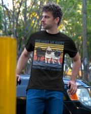 Pug Make Me  Classic T-Shirt apparel-classic-tshirt-lifestyle-front-44