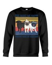 Pug Make Me  Crewneck Sweatshirt tile