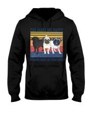Pug Make Me  Hooded Sweatshirt tile