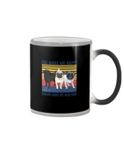 Pug Make Me  Color Changing Mug tile