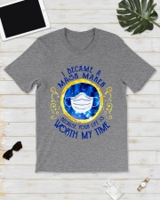 I Became A Mask Maker Because Your Life Classic T-Shirt lifestyle-mens-crewneck-front-17
