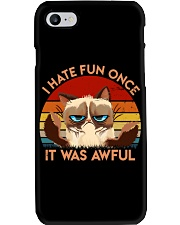 I Hate Fun Once Phone Case tile