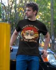 I Hate Fun Once Classic T-Shirt apparel-classic-tshirt-lifestyle-front-44
