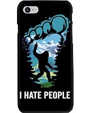 I Hate People Bigfoot  Phone Case tile