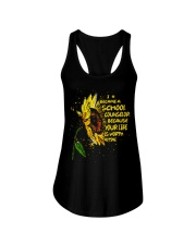I Became A School Counselor  Ladies Flowy Tank tile