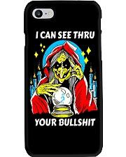i can see thru your bullshit Phone Case tile