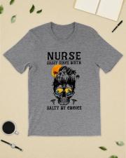 Nurse Sassy Since Birth Salty  Classic T-Shirt lifestyle-mens-crewneck-front-19