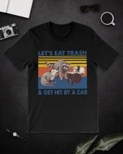 Opossum Lets Eat  Classic T-Shirt lifestyle-mens-crewneck-front-16