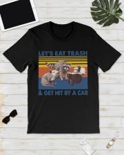 Opossum Lets Eat  Classic T-Shirt lifestyle-mens-crewneck-front-17