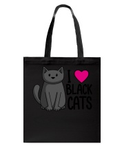 Cats T-ShirtI Love Black Cats T-Shirt Tote Bag thumbnail