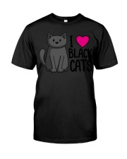 Cats T-ShirtI Love Black Cats T-Shirt Classic T-Shirt tile