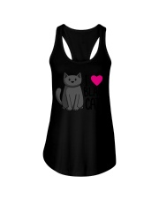 Cats T-ShirtI Love Black Cats T-Shirt Ladies Flowy Tank thumbnail