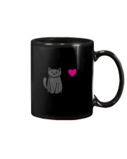 Cats T-ShirtI Love Black Cats T-Shirt Mug thumbnail