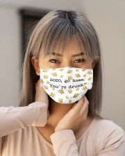 VAK039 You Are Drunk Cloth Face Mask - 5 Pack aos-face-mask-lifestyle-18