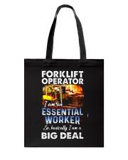 forklift operator Tote Bag tile