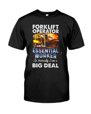 forklift operator Classic T-Shirt front