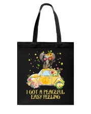 hippie hth  Tote Bag tile