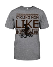 Cycling Mom Like  Classic T-Shirt front