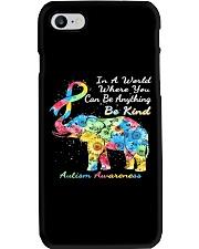 elephant austim Phone Case tile