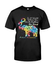 elephant austim Classic T-Shirt front