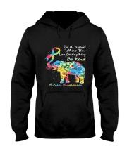 elephant austim Hooded Sweatshirt tile