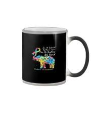 elephant austim Color Changing Mug tile