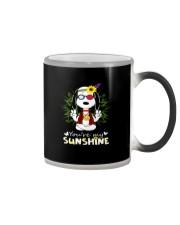 you re my sunshine Color Changing Mug tile