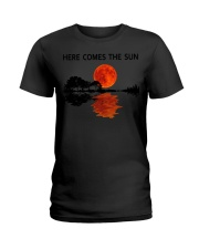 Here Comes The Sun Guitar  Ladies T-Shirt tile