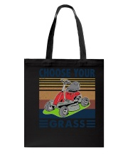 Choose Your Grass Tote Bag tile