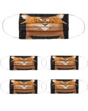 200723NMN-905-BT-FM Cloth Face Mask - 5 Pack front
