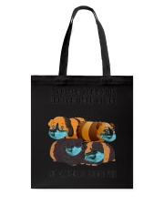 Cannot Be Quarantined Alone Tote Bag tile
