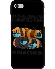 Cannot Be Quarantined Alone Phone Case tile