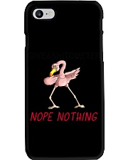 Flamingo Let Me Check  Phone Case tile