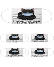 200722NMN-002-BT-FM Cloth Face Mask - 5 Pack front