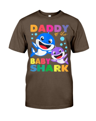 Daddy Of The Baby Shark Birthday Daddy Shark