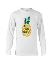 Accept adapt advocate pineapple shirt Long Sleeve Tee thumbnail