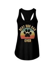 Vintage Dog Dad Cool Ladies Flowy Tank thumbnail