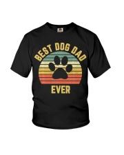 Vintage Dog Dad Cool Youth T-Shirt thumbnail